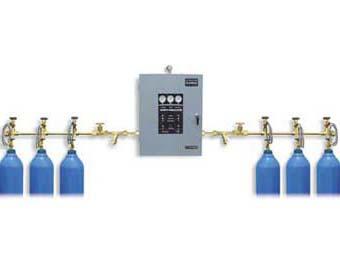 自动切换气体汇流排